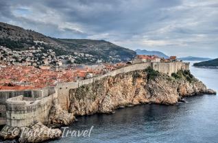 Dubrovnik's impressive ramparts