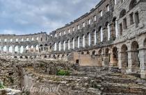 Pula's Roman amphitheater