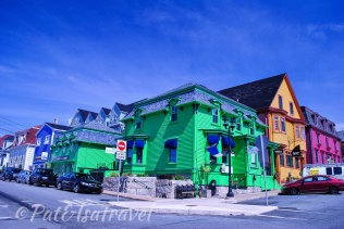 Colorful houses of Lunenburg