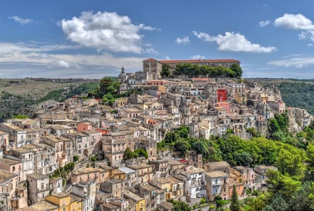 Vue de Ragusa