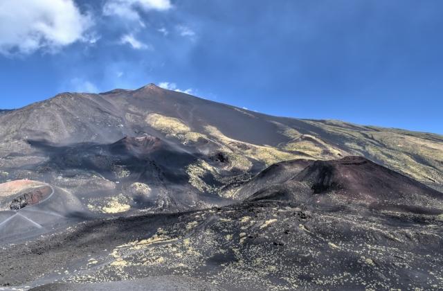 Un cratère du mont Etna